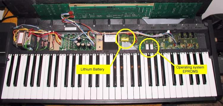 Internal Battery for Ensoniq ESQ1 VFX-SD SQ80 SD1 SYNTH NEW FRESH