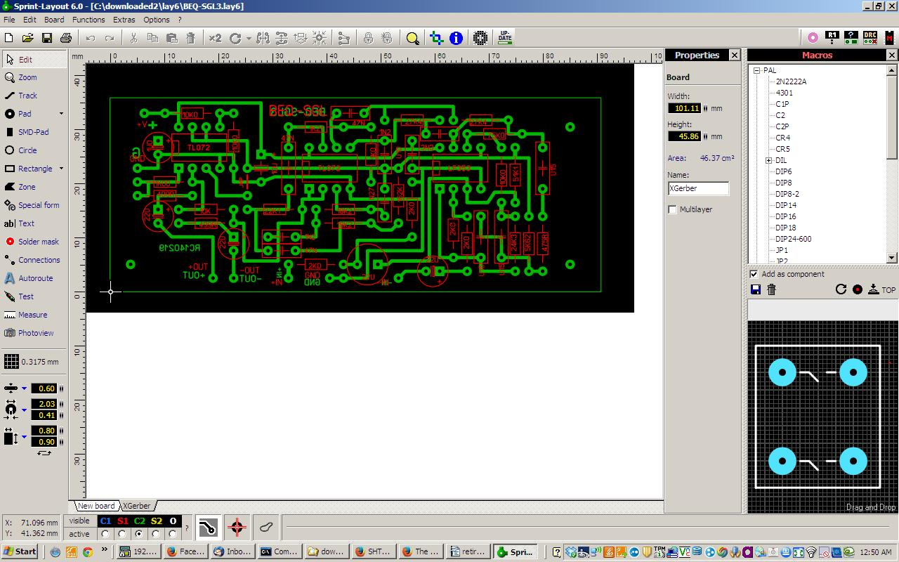 The History Of Making Film Circuit Board Prototyping Part 1 Exposing Developing Etching And These Programs Will Print To Paper At 200 Size As An Important Suggestion Place Much Text Information You Can Each Layer Your