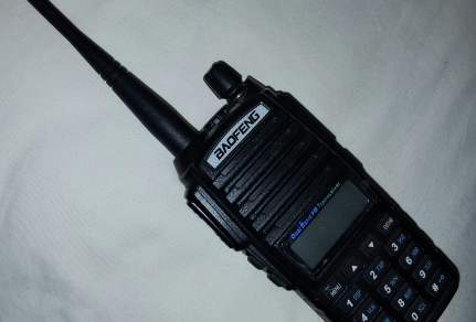 Programming the Baofeng portable radio