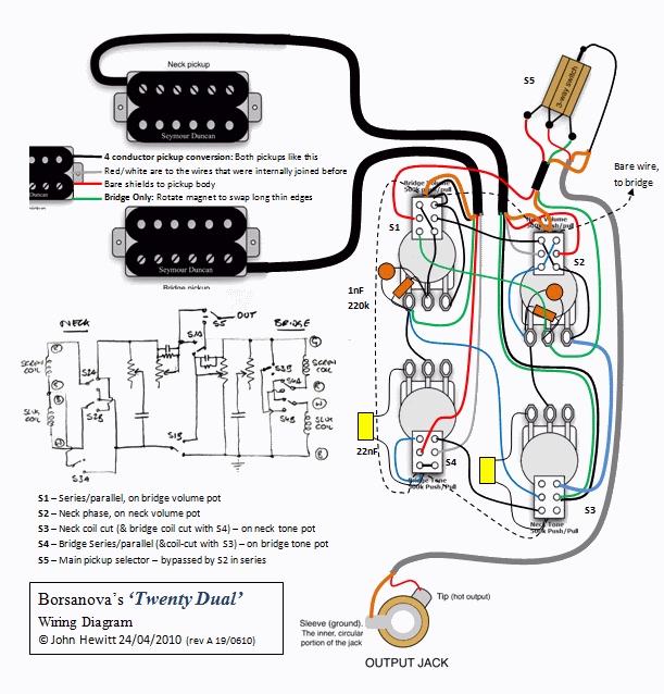 Guitar Pickup Schematics Lowdown